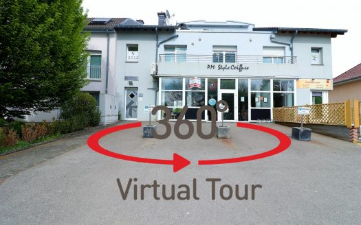 Visite virtuelle 3D ultra réaliste. -- Local commercial en vente, MOUTFORT