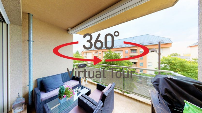 Ultra-realistische 3D virtuelle Besichtigungen -- Wohnung zu verkaufen LUXEMBURG-CENTS