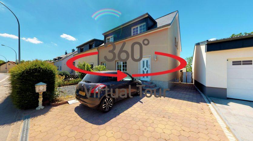 Ultra-realistische 3D virtuelle Besichtigungen -- Haus zu verkaufen, CONTERN