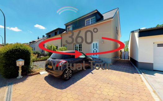 Virtual tours 3D ultra-realistic -- House for sale, CONTERN