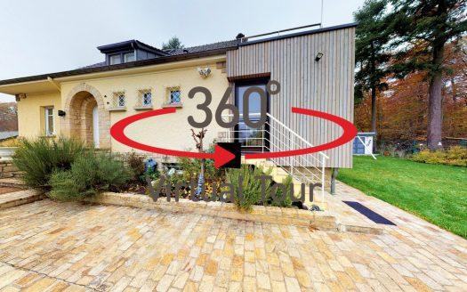 Visite virtuelle 3D ultra réaliste - Maison en vente à Leudelange
