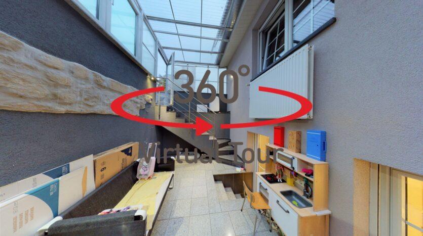 Maison en vente à Luxembourg-Weimerskirch - Visite virtuelle 3D ultra réaliste.