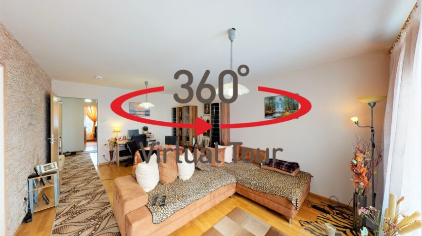 Appartement en vente Luxembourg-Cents - Visite virtuelle 3D ultra réaliste.