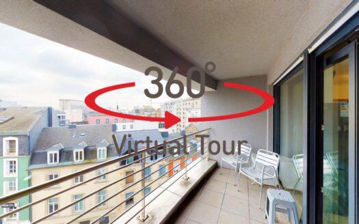 Appartement en vente, Luxembourg-Gare Visite virtuelle 3D ultra réaliste.